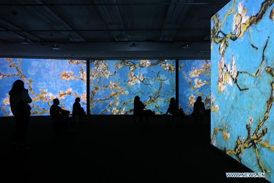 "Multisensory exhibition: ""Van Gogh Alive"""