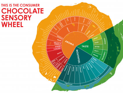 New sensory language for chocolate – Tasting ritual requires the five senses – sight, touch, hearing, smell and taste