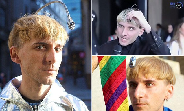 Self-declared 'cyborg artist' says his implant lets him hear colours