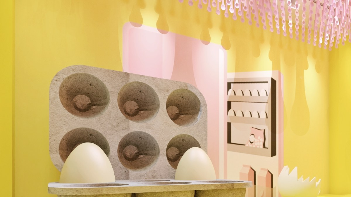 The Egg House Pop-Up Is an Interactive Multisensory Experience for People Who Really Love Eggs