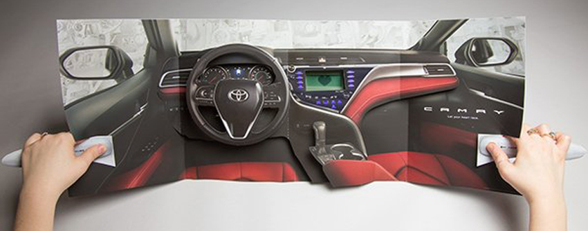 Multisensory Electronic Ad Delivers Fun and a New Car Smell for Toyota