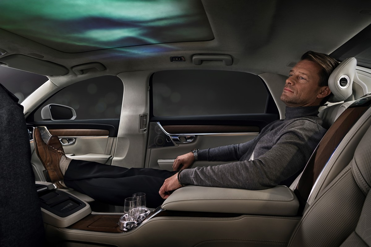 Volvo's New Back Seat Is an Ultra-Luxurious Wonderland of Sight, Sound and Scent
