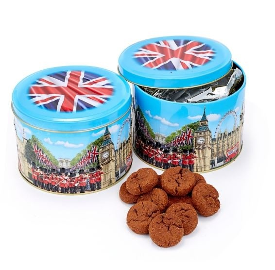 Churchill's Confectionery debuts musical biscuit tin to commemorate Royal Wedding