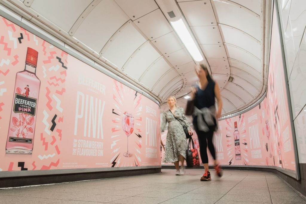 Oxford Circus tube station smells like strawberries
