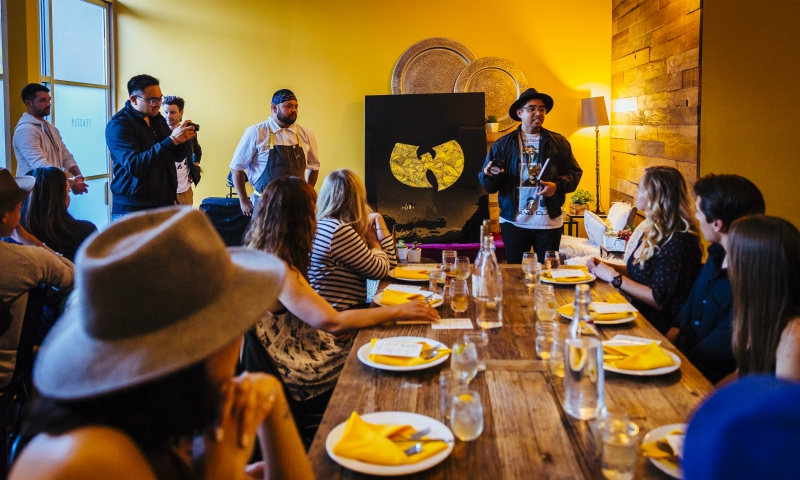 Dinner Series Inspired by Wu-Tang Clan Songs