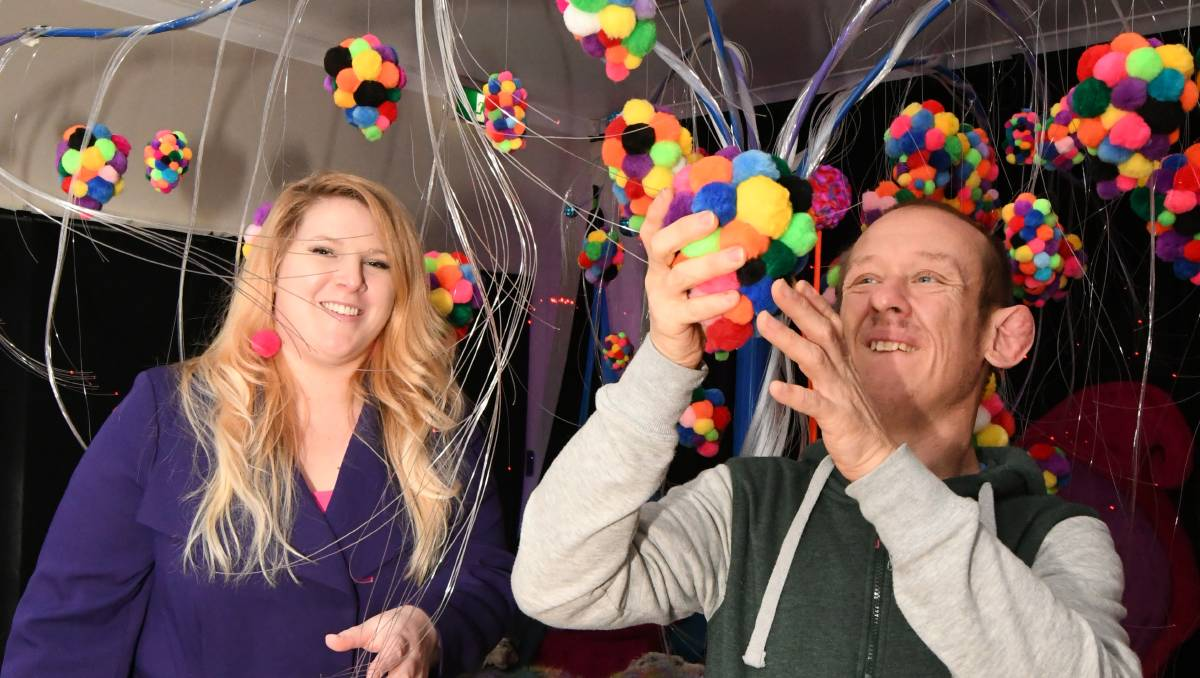 Colourful and illuminating event atreat for the senses | Video
