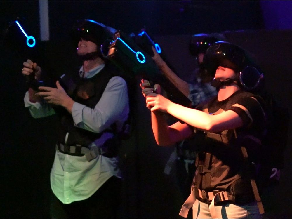 New virtual reality game that includes smell & touch | Edmonton Journal