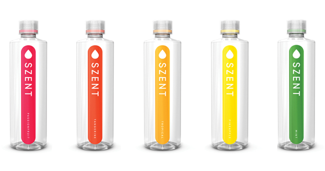 Scent-Based Water SZENT Launches Online | BevNET.com