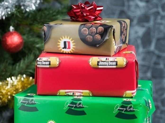 Jimmy Dean offering sausage-scented holiday wrapping paper | WWAY TV