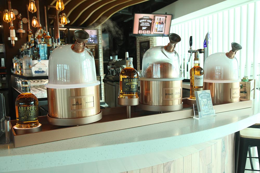Bacardi and Eraman unveil new Dewar's Multisensory Vapour Bar in KLIA2 | Travel Retail Business