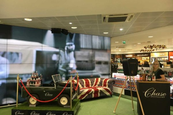 Chase Distillery embarks on 'British Field to Bottle' multisensory campaign at Birmingham Airport | The Moodie Davitt Report