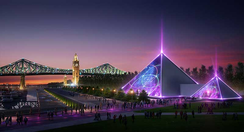 Cirque du Soleil founder to open pyramid theatre in Montreal | blooloop