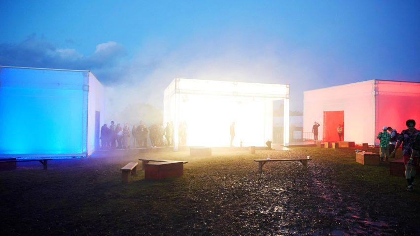 "Childish Gambino invites festival-goers to switch off at immersive ""wellness"" installation | Dezeen"