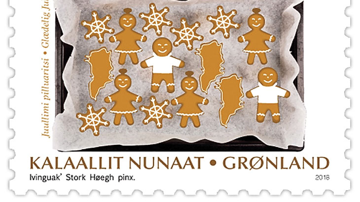 Scent added to Greenland Christmas stamps | linns.com