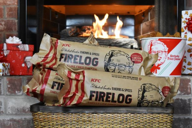 KFC is making firelogs that smell like fried chicken | AOL Lifestyle