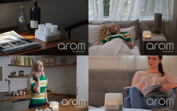 AROM is a smart gadget for aromatherapy and scent layering | Geeky Gadgets