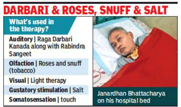 Doctors use multisensory therapy to bring 65-year-old back from coma   Times of India