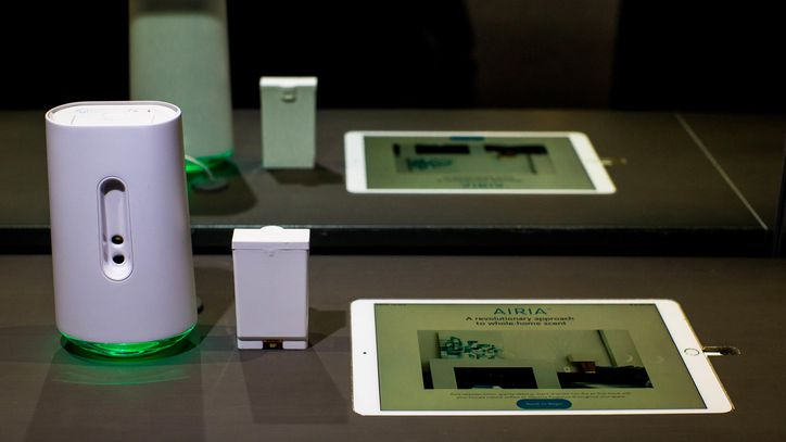 Airia is a smart fragrance diffuser with ink-jet printer technology | CNET