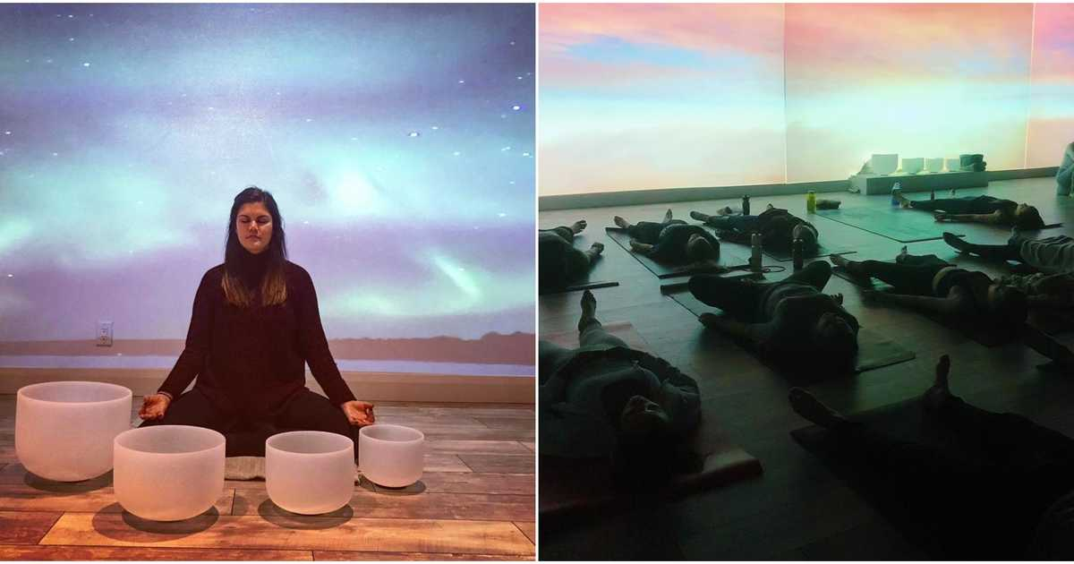 A New Multisensory Meditation Studio Just Opened Up In Ottawa And It Looks So Relaxing | Narcity