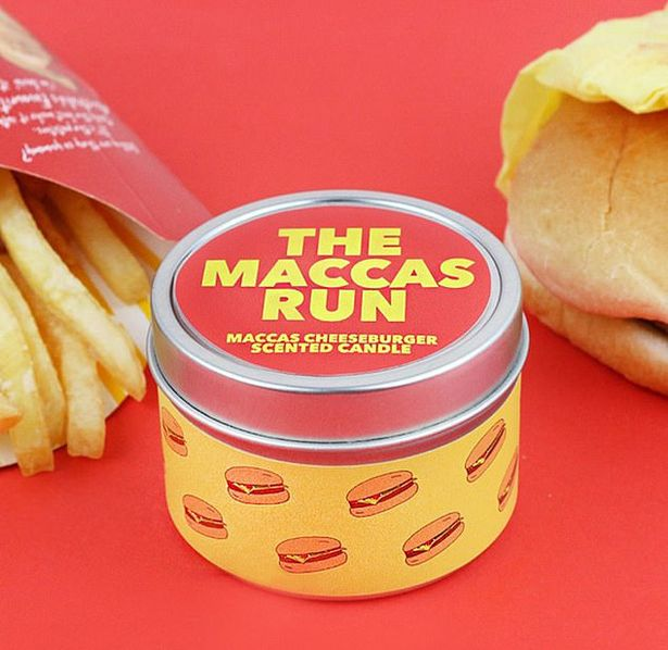 McDonald's cheeseburger scented candle has fans' mouths watering and lasts ages | Mirror Online