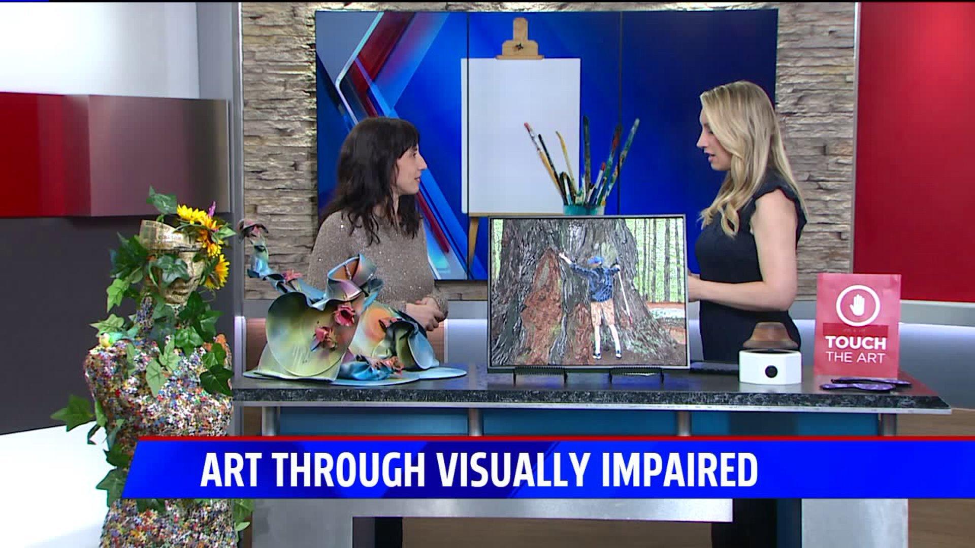 reVISION art exhibit explores art through eyes of visually impaired | FOX59