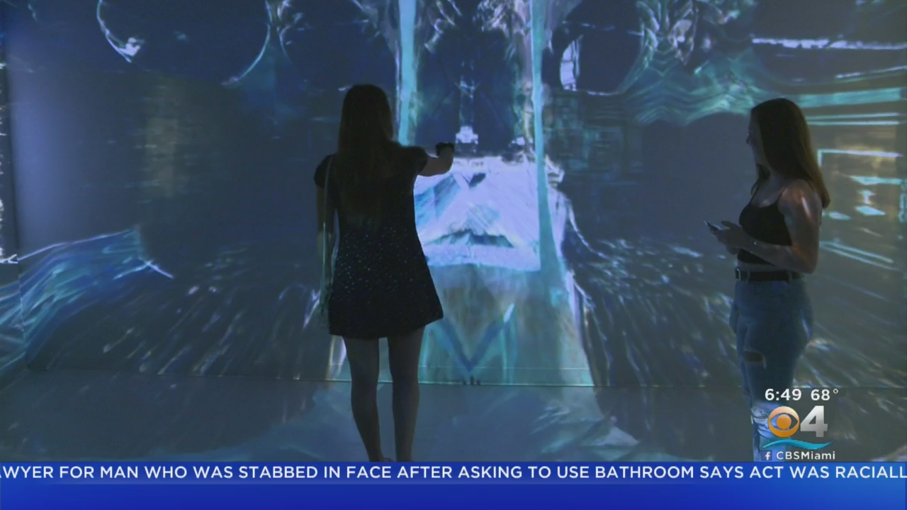 Artechouse On Miami Beach Showcases Innovative Digital Art   Miami CBS