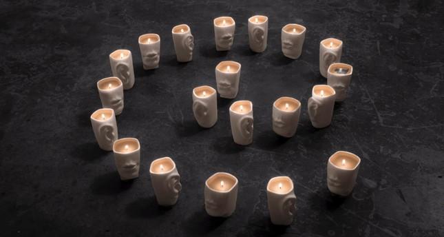Artist reveals love through ceramics, words, colors and smells | Daily Sabah