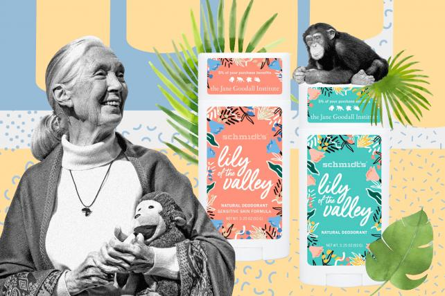 Now you, too, can smell like Jane Goodall | AdAge
