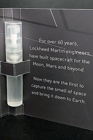 Behind the scent: Lockheed Martin bottles astronaut's smell of space | collectSPACE