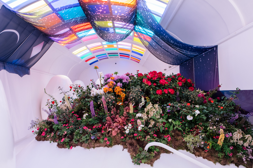 Smell The Poo-Quet! A Garden Has Appeared At Sketch's Famous Toilets Pods   Londonist