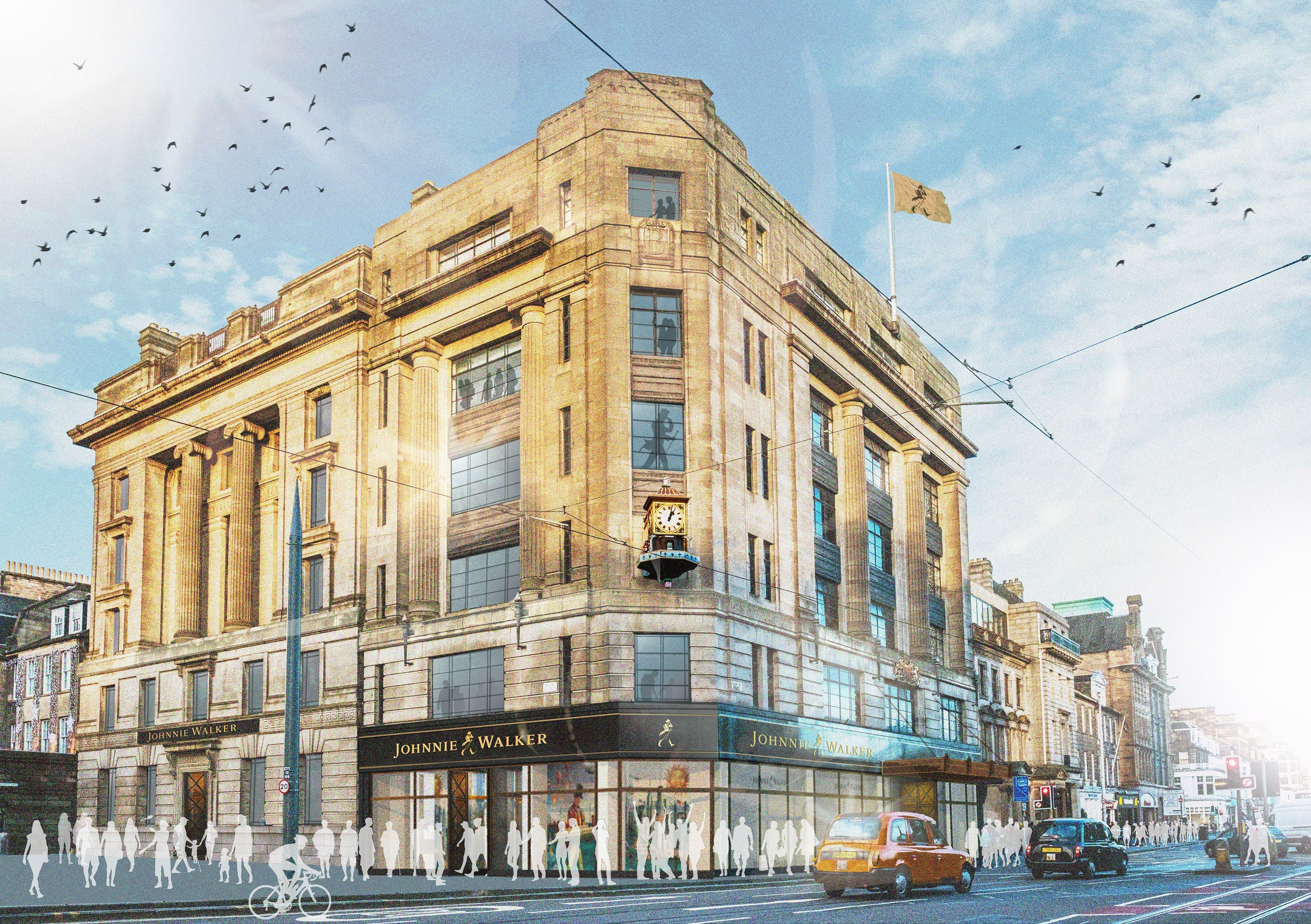 Planners back £150m Johnnie Walker multisensory project at former Princes Street House of Fraser store | Scottish Construction Now
