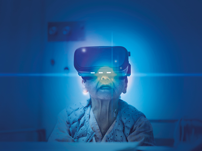 Virtual reality will change how the healthcare sector treats patients | The New economy