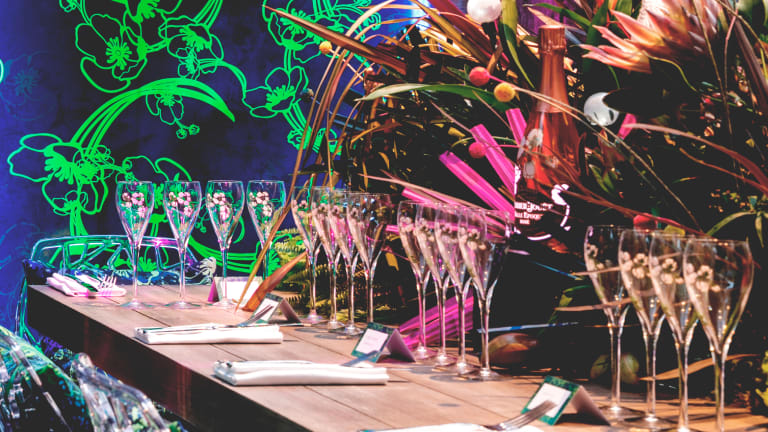 Fine Dining With A Dark Twist At 12-Micron & Perrier-Jouët's Vivid Experience | Bosshunting