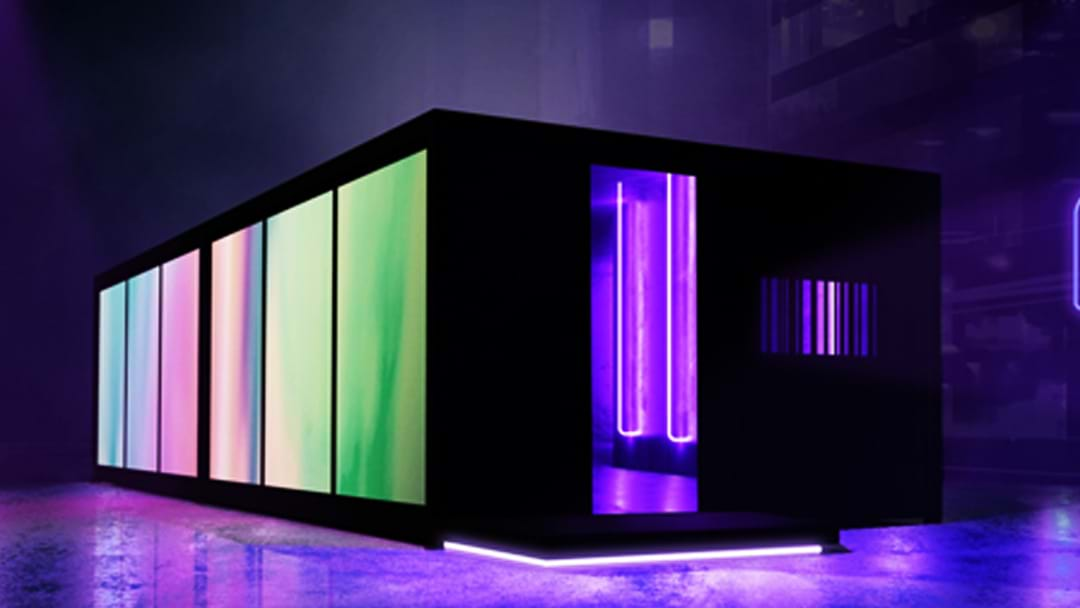 A Glowing Dessert Filled Black Cube Is Popping Up In Sydney This Vivid | Hit Network
