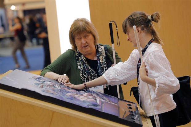 Different ways to show paintings, photos to blind people – Tech News | The Star Online