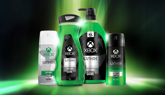 "Official Xbox deodorant features the ""fresh scent of pulsing green citrus"" 