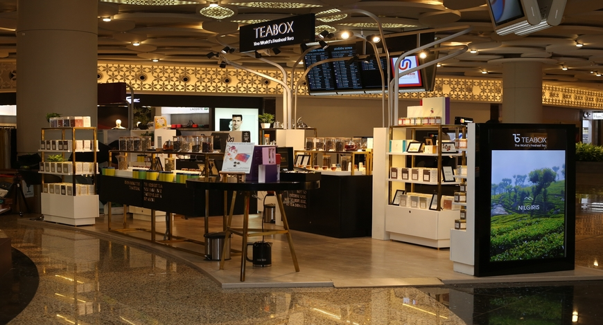 "Teabox Debuts At Bangalore Airport; Launches ""Multi-Sensory"" Experiential Tea Store 