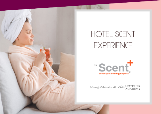 "The ""Hotel Scent Experience"" presented in Hotelier Academy's latest ""Hotelier Insider"" 