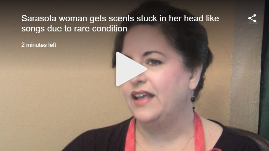Local woman gets scents stuck in her head like songs due to rare condition | WFLA