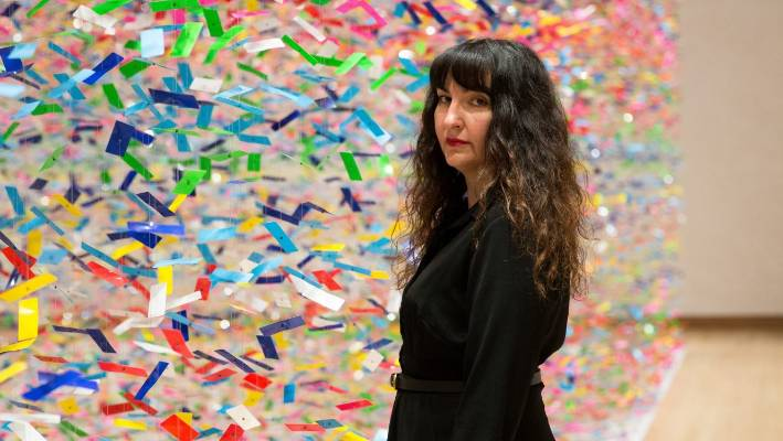 Artist Nike Savvas was born in Sydney and now spends her time between Australia and the UK.