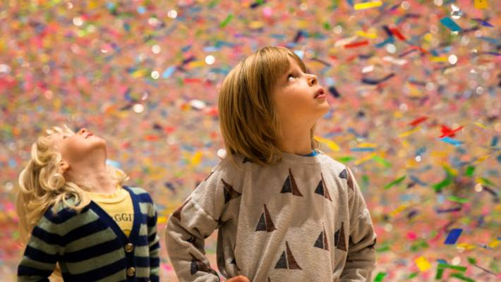 Multi-sensory kinetic installation work 'Finale: Bouquet' arrives at Te Papa Toi Art gallery | Stuff.co.nz