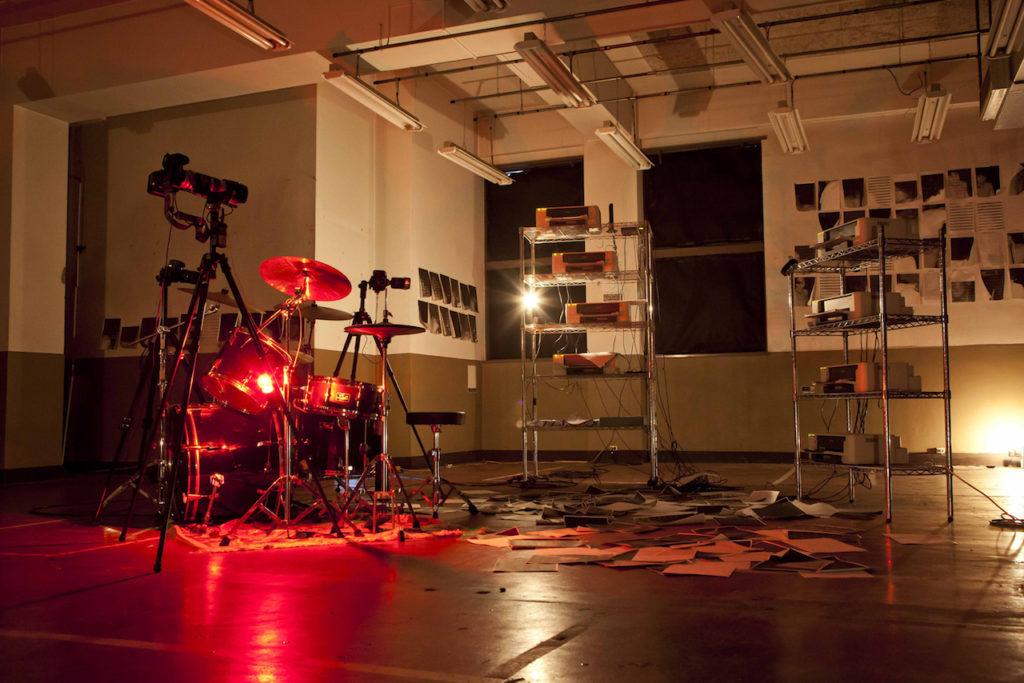 Doors: a multi-sensory drum performance   British Journal of Photography