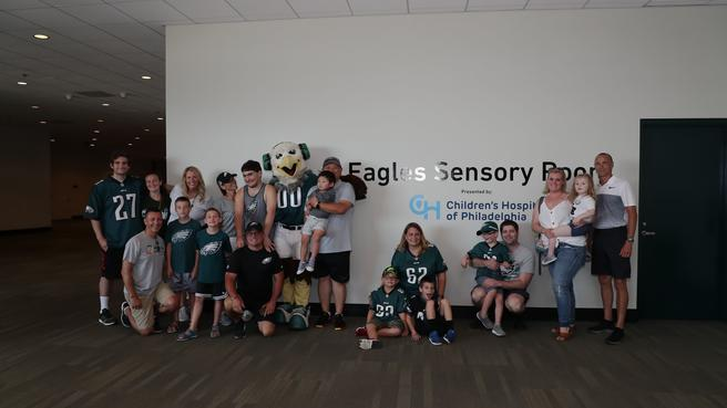 Eagles build sensory room for fans with autism and sensory challenges | NBC Sports Philadelphia