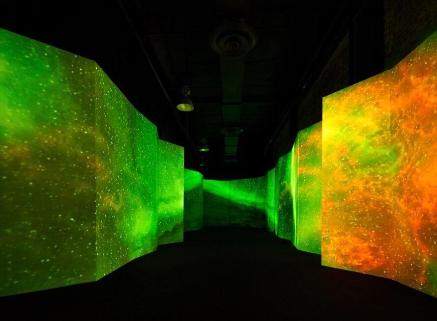Psychedelic installation in NYC spotlights environmental issues | Inhabitat