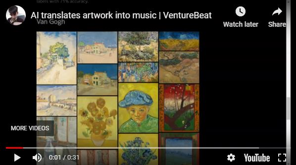 SynVAE AI translates visual artwork into melodies | Venturebeat