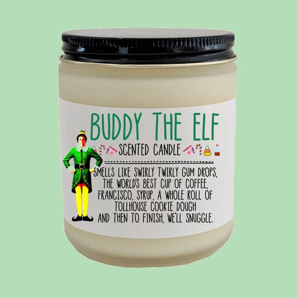 Etsy Is Selling a Buddy the Elf-Inspired Candle That Smells Like Swirly Twirly Gumdrops | House beautiful