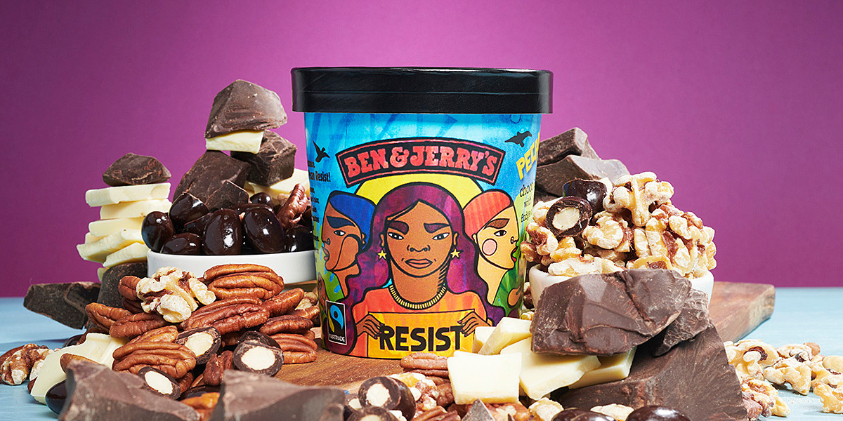 Ben & Jerry's Goes After Donald Trump With Its Latest Ice Cream