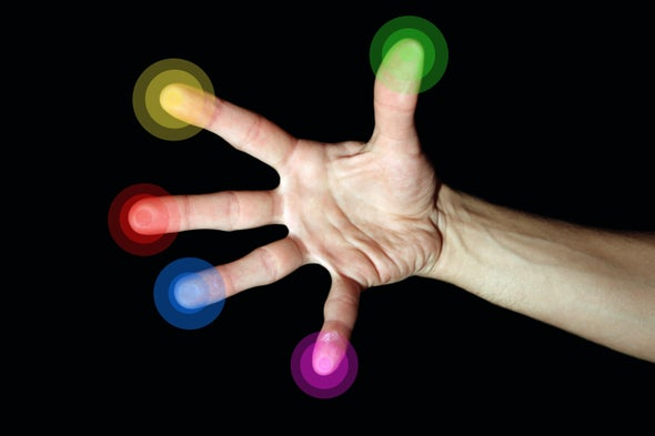 """New Virtual Reality Interface Enables """"Touch"""" Across Long Distances 