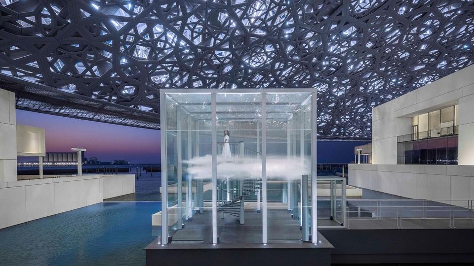Cartier Has Created A Perfumed Cloud At Louvre Abu Dhabi | Harper's BAZAAR Arabia