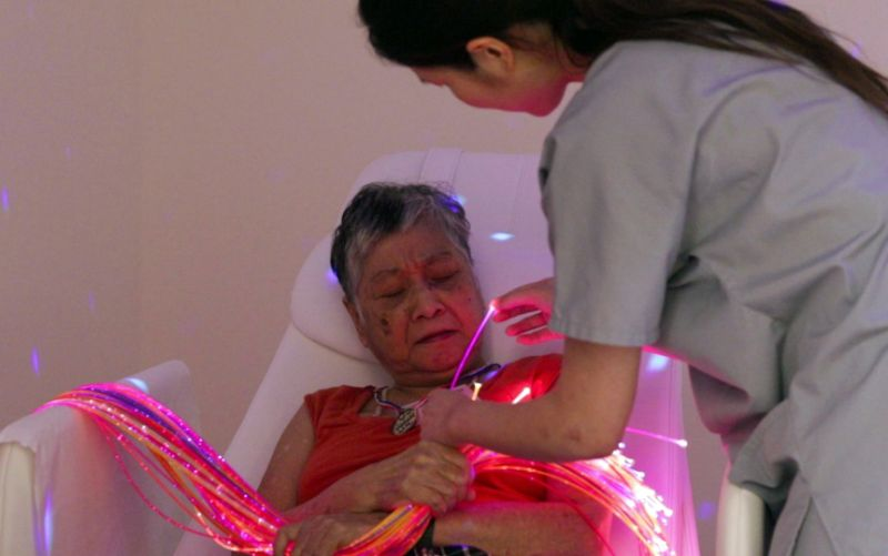 Resident homes embrace multi-sensory spaces to help people with dementia | Yahoo